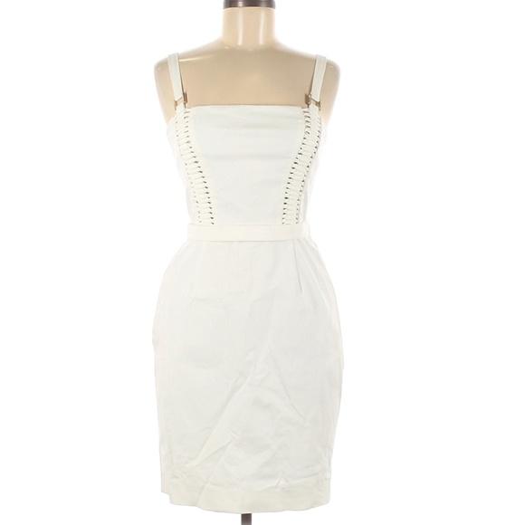 Versace Lae Up Dress Size 42/M